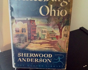 """Vintage """"Winesburg, Ohio"""" by Sherwood Anderson"""