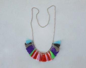 Kavadia purple drama necklace