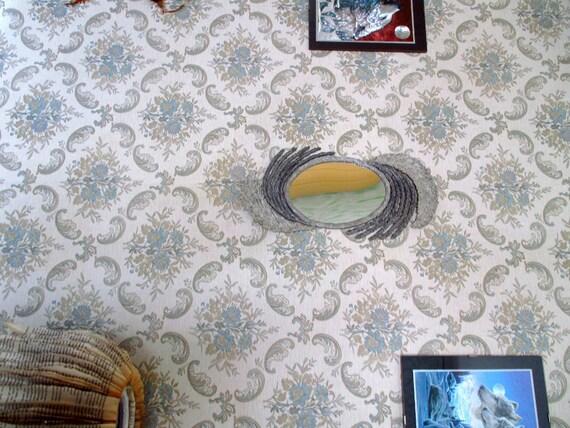 Specchiera cartapesta cornice carta riciclata e specchio - Carta a specchio ...