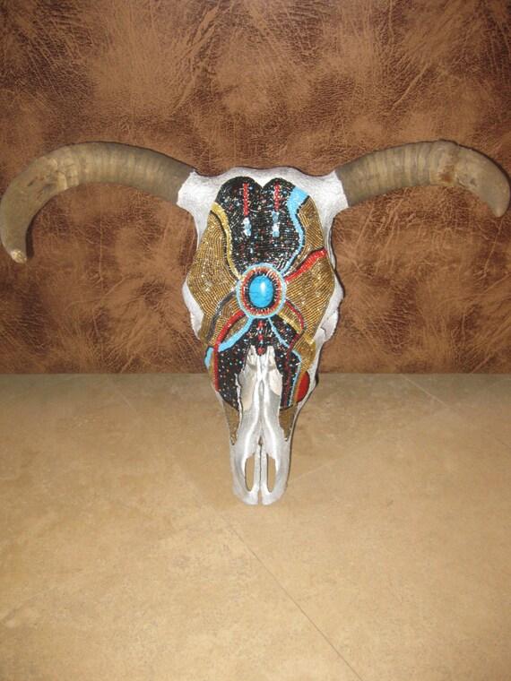 cow skull and desert - photo #11