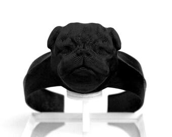 Bracelets made on 3D printer (frenchdogs, pug. dog lovers)