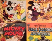 Walt Disney Comic Collectibles (Four from Gladstone 1889)