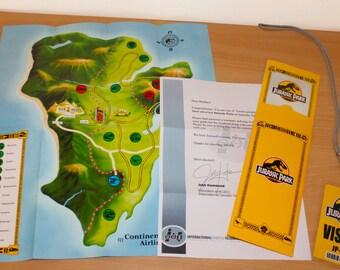 Jurassic Park Brochure Digital Download