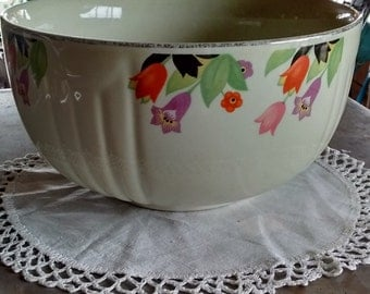 1930's-Hall-Crocus-bowl-antique