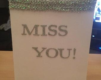 Miss you blank inside
