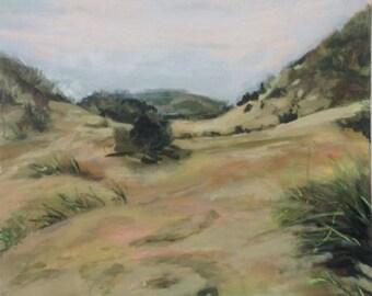 original acryl painting dunes