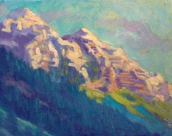 The Cliffs of Maroon Bells