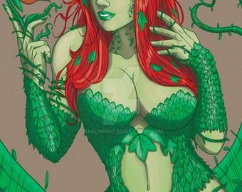 Poison ivy print