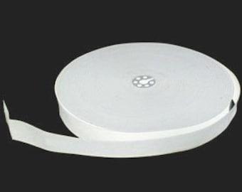 White 25mm Elastic 0.5m (SEW000097)