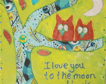 I Love You To The Moon ( Green)