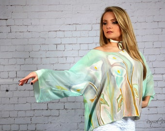 Tunic ''CALLA LILY FLOWERS''