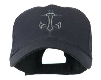 Anchor Logo Embroidered Cap