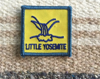 Little Yosemite vintage sew on patch
