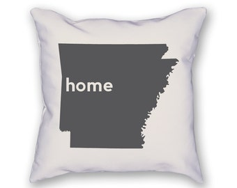 Arkansas Home Pillow