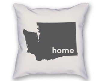Washington Home Pillow