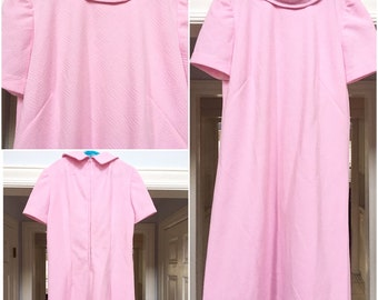 Retro Pink Scooterdress from 1960's
