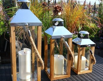 Wooden Mullion Lantern LT021