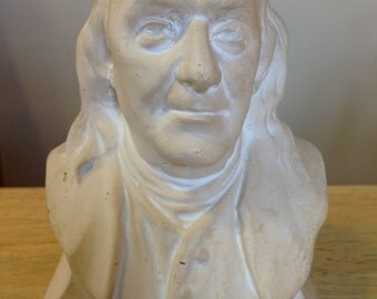 Vintage Benjamin Franklin Bust