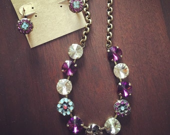 12mm Amethyst Garden Necklace