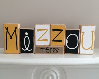 Mizzou Decor Blocks