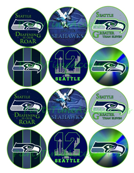 NFL Seattle Seahawks Printable DIGITAL by PartyTimeAccessories