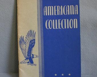 Americana Collection Song Book