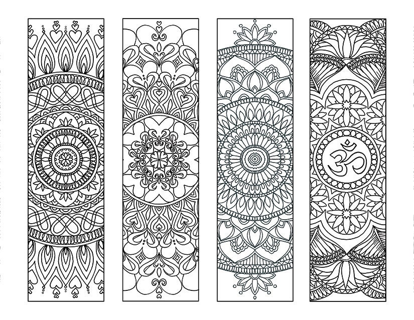 coloring pages of bookmarks - photo#43