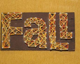 FALL String Art