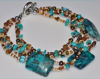 Taste of the West Turquoise Bracelet