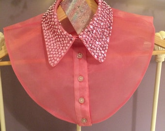 Pink Sequinned Collar