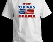 AR15 Political and Gun Rights T-shirt Featuring Obama slogan