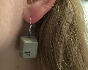 Amiga key earrings