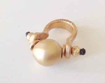 The Golden Ball Ring