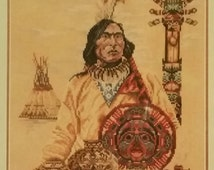 North American Cultures Sioux - Lanarte 34627 Counted Cross Stitch Kit