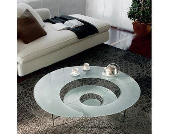 Spiral coffee table design - Cattelan Italia