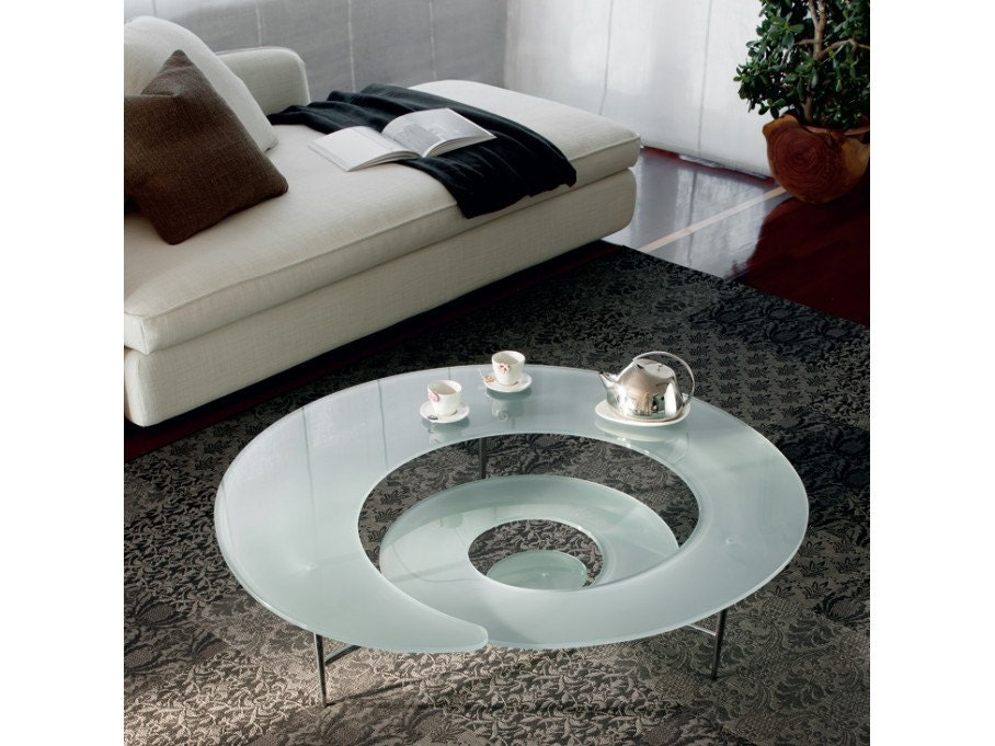 Table basse spiral design cattelan italia haute juice - Table basse convertible table haute ...