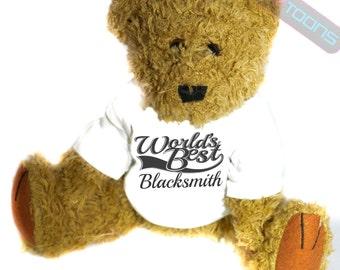 Blacksmith Thank You Gift Teddy Bear