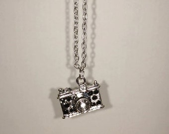 Small Camera charm necklace