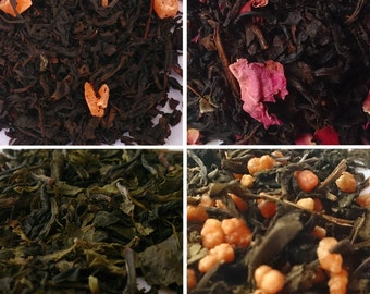 Oolong Green and Black Tea samples by Oolong Inc - 6 packs - Free Shipping!