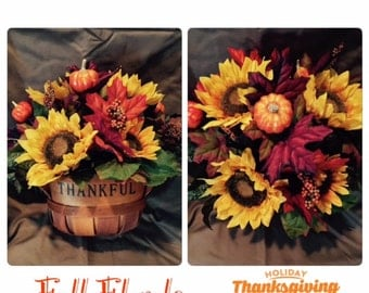 Give Thanks Floral Centerpiece