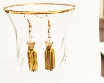 Beautiful Resin Glass Earings Trendy 2016