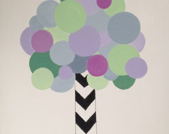 Modern Tree for Child's Room