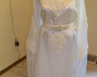 Native inspired Wedding dress