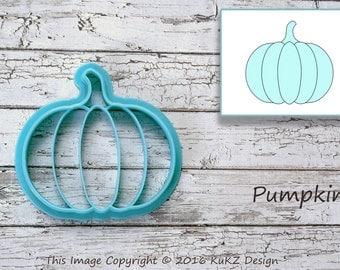 Pumpkin cookie cutter / Halloween cookie cutter / Fall cookie cutter / Vegetables cookie cutter / Pumpkin fondant cutter