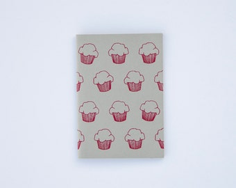 Book notebook MUFFINS/CUPCAKES