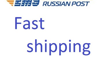 Fast  shipping EMS post. Fast delivery in USA