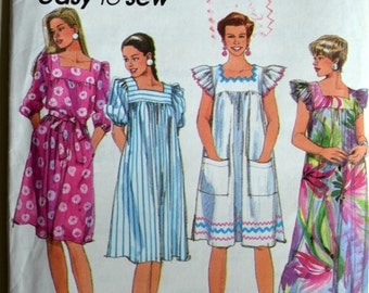 Uncut 1990s Simplicity Vintage Sewing Pattern 7830, Size AA
