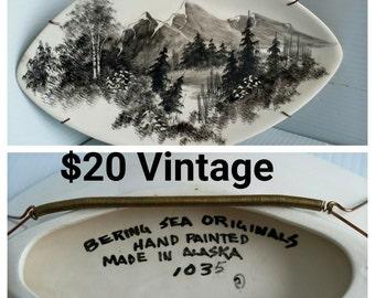 Alaska Painted Plate