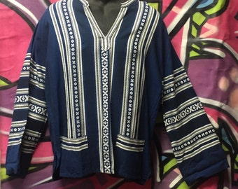 Tunic, pullover, hippie, surfer, ethnic shirt