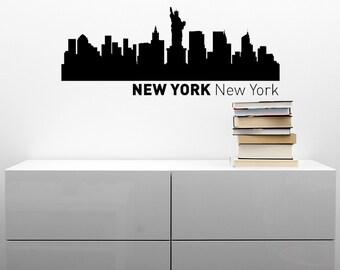 New York City Skyline Vinyl Decal